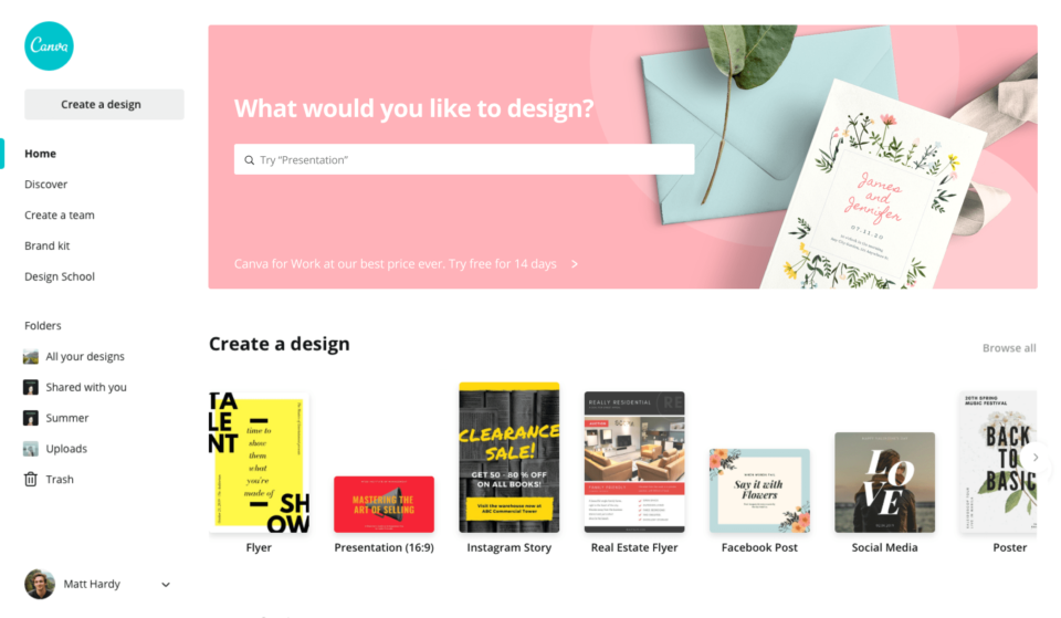 De bedste gratis designværktøjer og billedbanker 2021