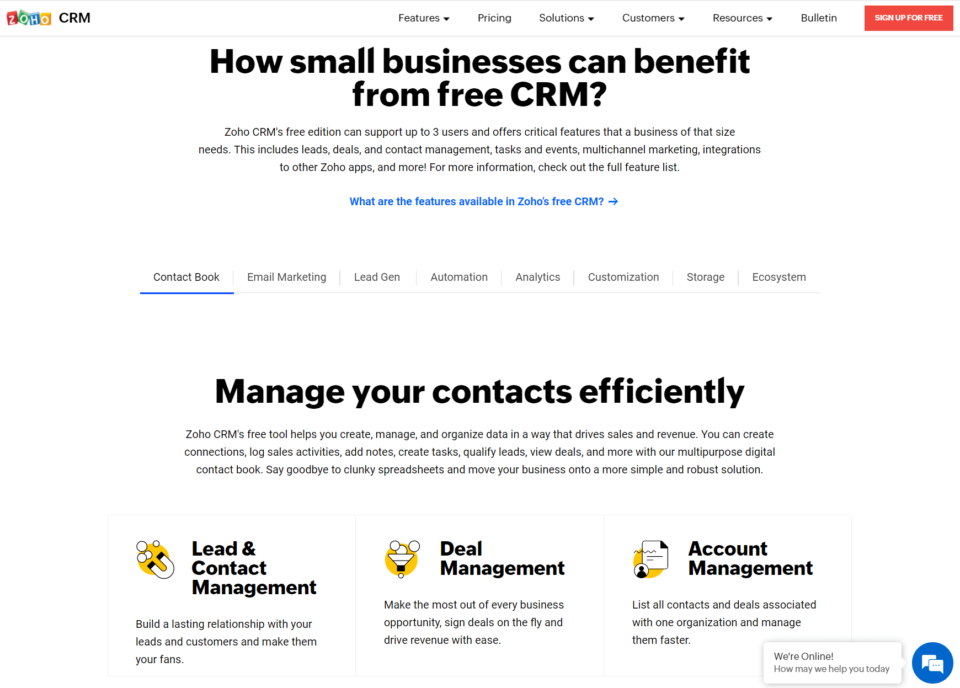 De 5 bedste gratis CRM-systemer 2021