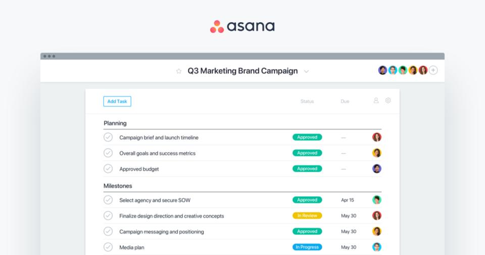Beste tools voor online samenwerken: Asana